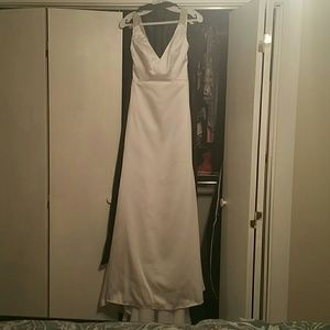 Mary's wedding gown